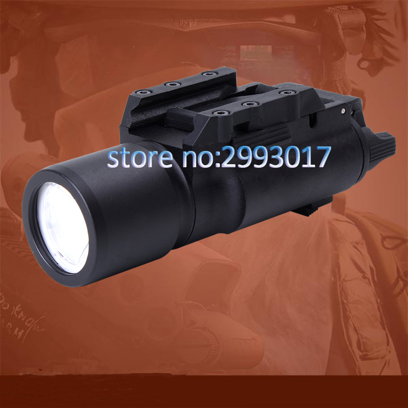 Tactical LED Pistol M4 Rifle Flashlight X300 Lanterna Ultra White Light 500 lumens For Hunting Shooting hot sale new tactical flashlight x300 ultra led weapon light for hunting for shooting cl15 0040