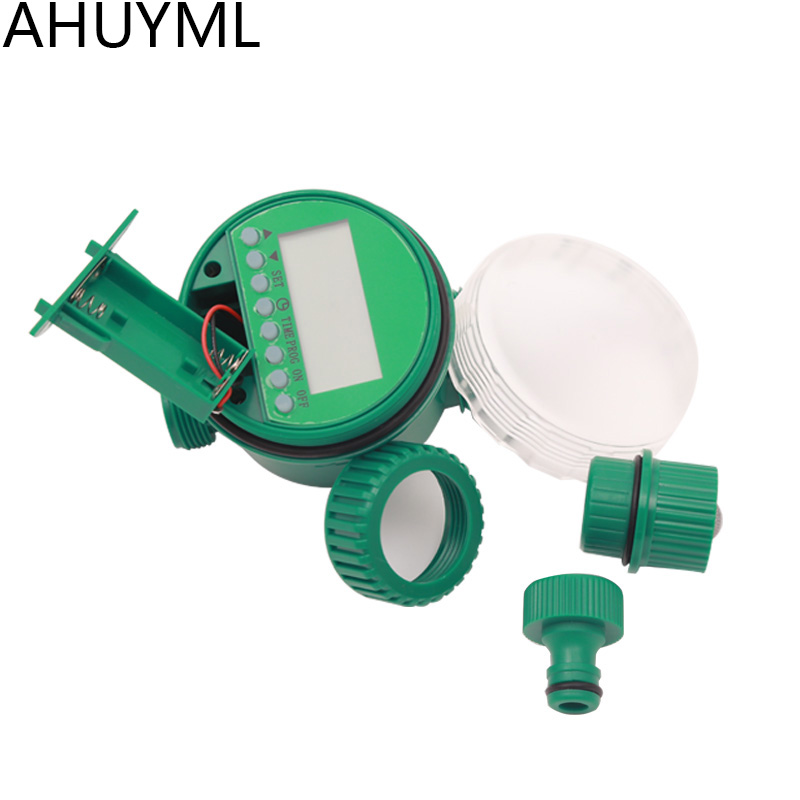 Newest Automatic Watering Controller Timer LED Garden Water Timer Sprinkler Irrigation Controller Plant Water Supply Top Quality