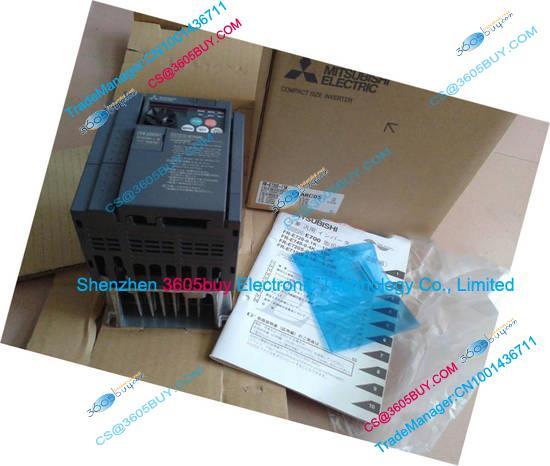New Original Inverter 2.2K 0.75K 0.4K 0.1k FR-E720S-1.5K-CHT output 3 ph 200~240V 7A 1.5KW 0.2~400Hz