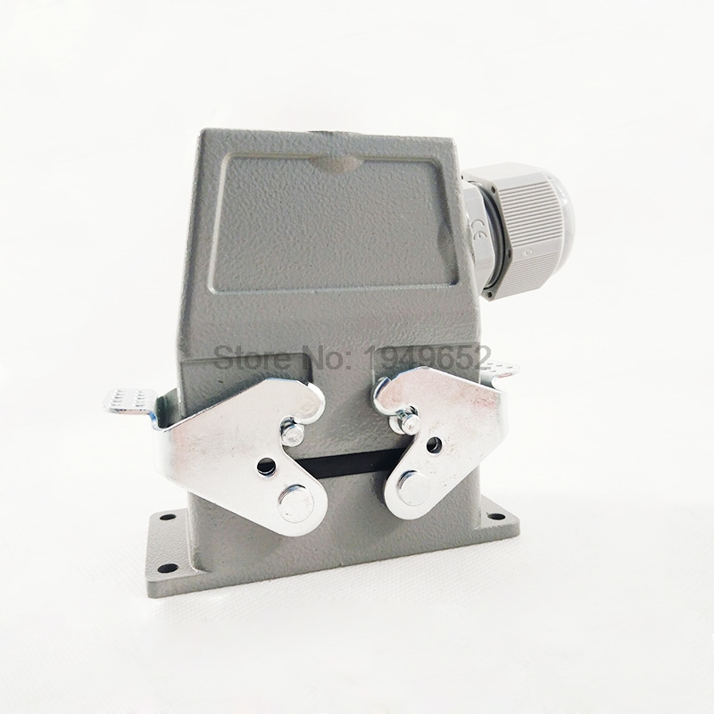 Heavy Duty Connectors HDD-042-1 F/M 42pin 10A Industrial rectangular Aviation connector plug