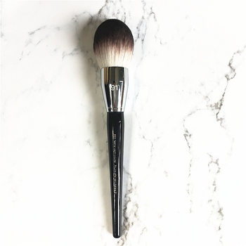 Professional Big Size Flame Highlighter Powder Brush No.91 Pro Featherweight Soft Powder Makeup Brush недорого