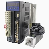 AC 220V 100W 40ST M00330 Servo Motor And Drive Kit Low Inertia Servo Motor 40ST 0.32Nm 3000rpm 0.1KW Electric Servo Set