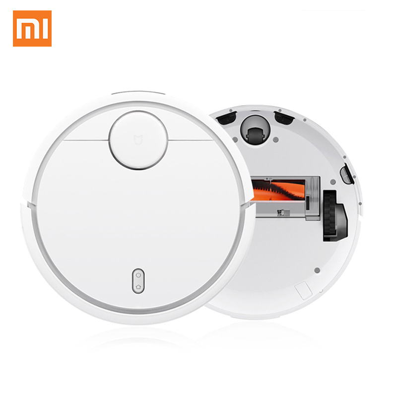 2017 Original XIAOMI MI Robot Vacuum Cleaner for Home Automatic Sweeping Dust Sterilize Smart Planned Mobile App Remote Control original xiaomi mi robot vacuum