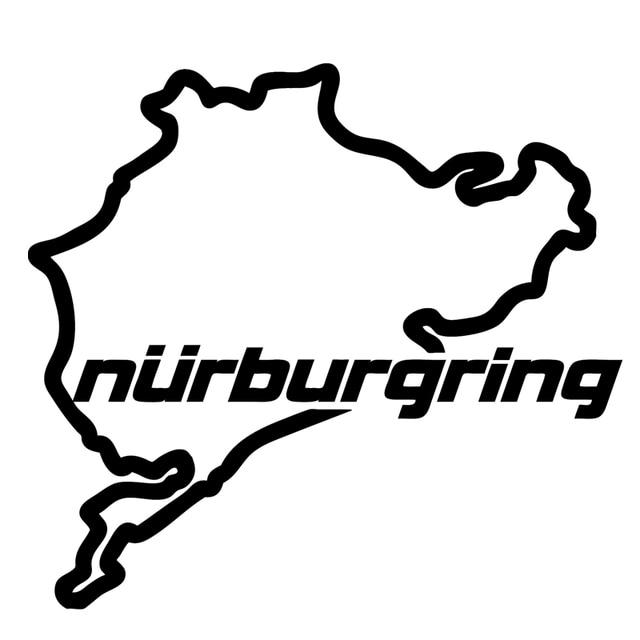 Aliexpresscom Buy HotMeiNi Nurburgring Funny Car Window Decal - Car window decal stickers online