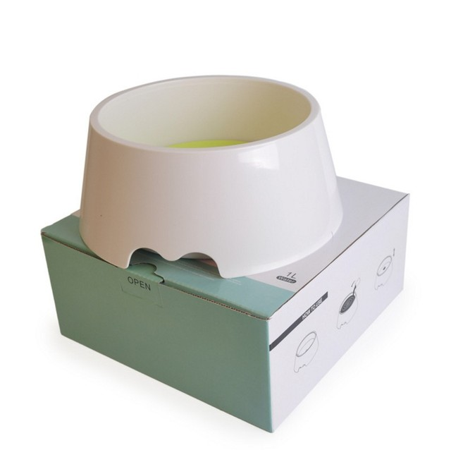 New Pet Dog Not Wet Mouth Drinking Bowl Dog Cat Health Feeding Fountain Cats Dogs Feeders Bowls
