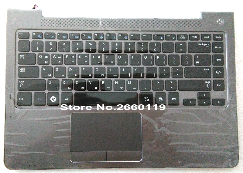 ФОТО  Perfect Quality Laptop For Samsung NP530U3B NP530U3C NP535U3C NP540U3C NP532U3C With C Shell Series Keyboard