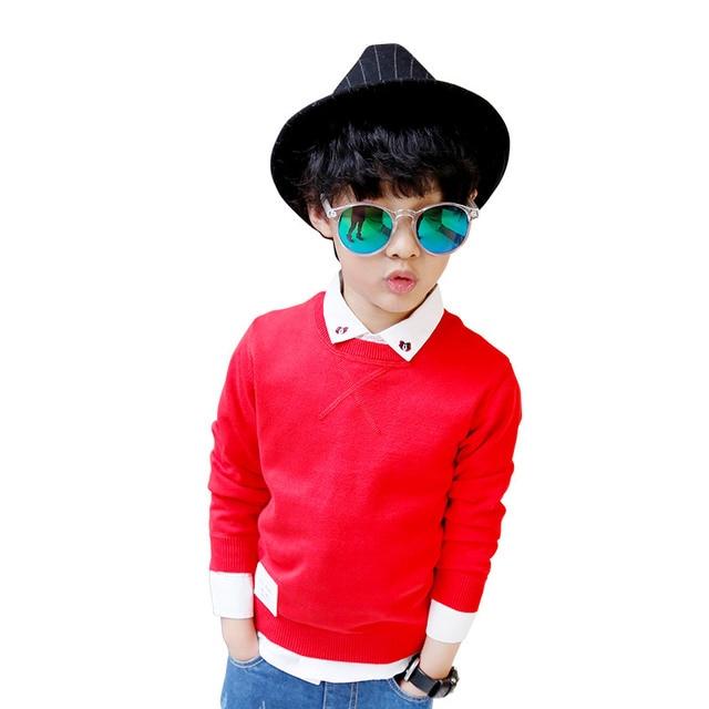 Nana La 2017 new spring children sweater 6504 Childrens Boys.