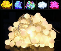 Fairy 30m 300 LED Ball String Christmas Lights New Year Holiday Party Wedding Luminaria Decoration Garland
