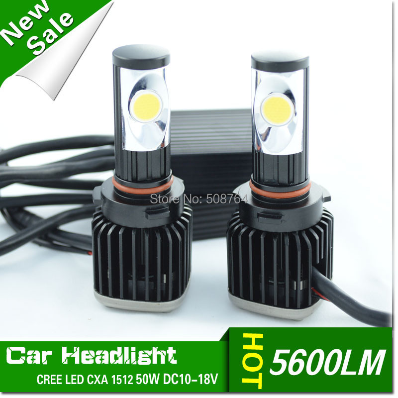 Car 50W 5600LM LED Headlight Canbus Kit For 9005 hb3  High Beam Xenon White Replace HID,9005 HB3 9006 HB4 H7 H8 H11 Available