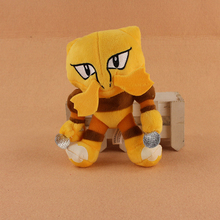 17cm Cute Alakazam Foodin Plush Soft Stuffed Animals Doll Toys For Kids Birthday Gifts
