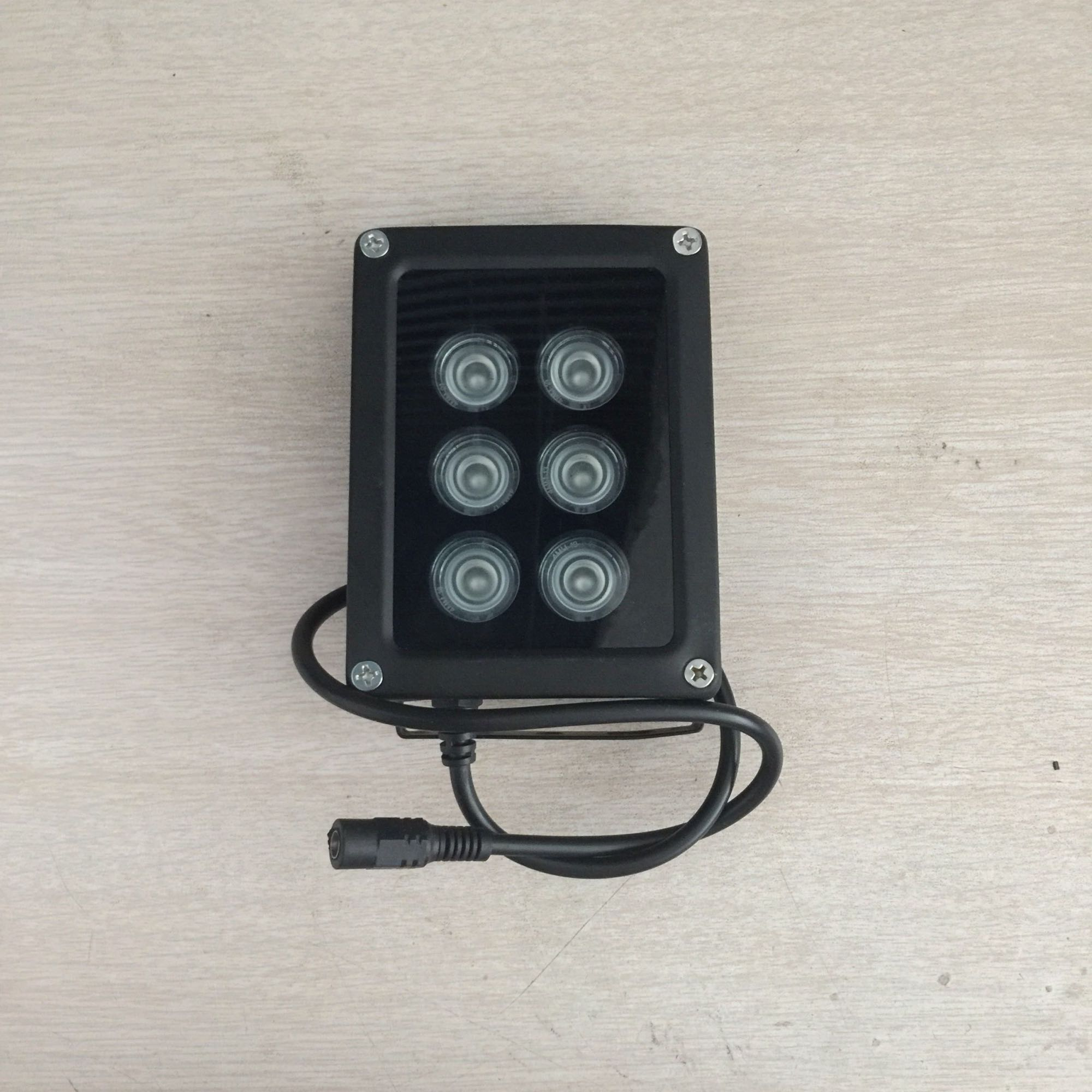 CCTV IR Light IR Spotlight infrared Light 6 LED high power Array 850nm IR For CCTV camera fill light IR illuminator ir illuminator 48led dc12v 850nm white