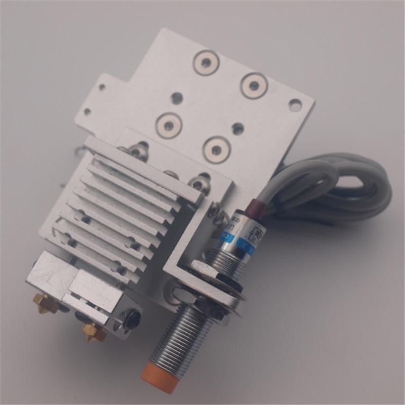 Reprap prusa I3 carro X montaje quimera/Cyclops Bowden hotend kit 1.75mm e inductivo sensor auto- sonda de nivelación