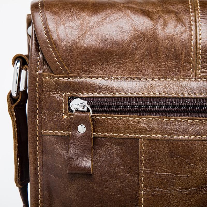 famous brand bag men messengerbags men' s men's one-shoulder bag, shoulder bag, casual, baotou, man bag luggage tag 13
