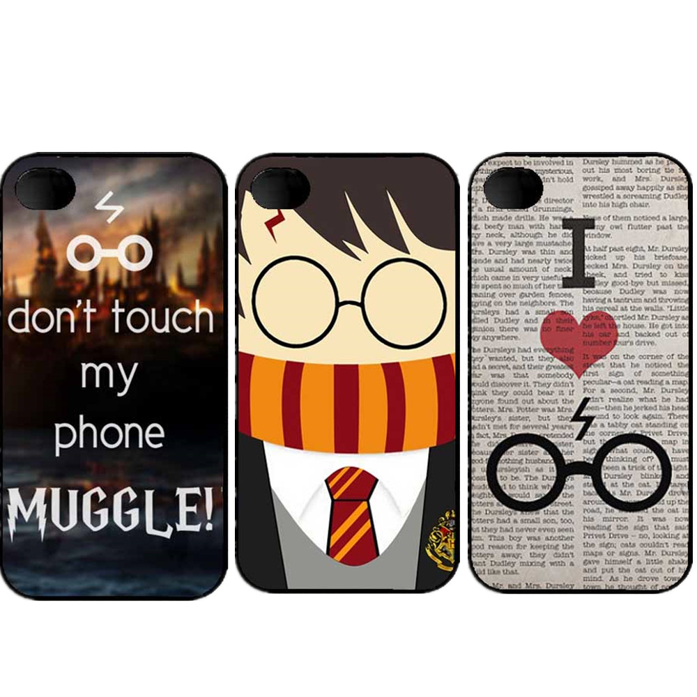 Don t touch my phone muggle Harry Potter Funny Phone Cases For iPhone SE 4 4S 5 5S 6 6S Plus 7 7Plus 8 8Plus X Phone Cover ...