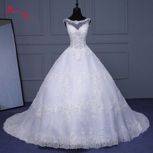 Jark Tozr Vestidos Custom Made A-line Wedding Dresses