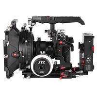 JTZ DP30 Camera Cage Baseplate Matte Box Follow Focus Rig KIT For Panasonic GH3 GH4 GH5 GH5S