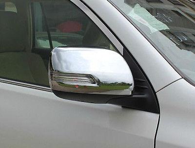 цена на Chrome side mirror cover trim For Toyota TOYOTA Land cruiser FJ200 2012-2018
