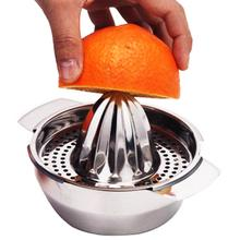 Stainless Steel Kitchen Manual Hand Press Lemon Orange Squeezer Juice Maker kitchen tool Kitchen Fruit Juice Cup kitchen gadgets