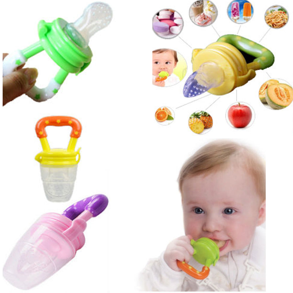 Nipple Fresh Food Milk Nibbler Feeder Non-Toxic Silicone Feeding Pacifier Bottles Fruit Juice chupeta para fruta