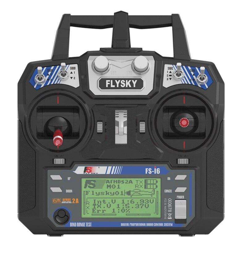 Flysky FS-i6 FS I6 2.4G 6ch RC Transmitter Controller FS-iA6 or IA6B Receiver For RC Helicopter Plane Quadcopter Glider newest flysky fs i6 remote controller 2 4g 6ch afhds rc transmitter with fs ia6 or ia6b receiver for rc helicopter plane drone