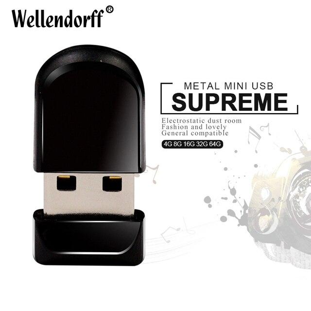 2017 Super mini tiny Cute waterproof 64GB USB 2.0 flash drive 8GB 16GB 32GB USB Memory Stick usb flash drive U disk