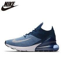 7f4c38b278c6 Nike Air Max 270 Cushion Sneakers Sport Flyknit Running Shoes Classic Deep  Blue AO1023-400