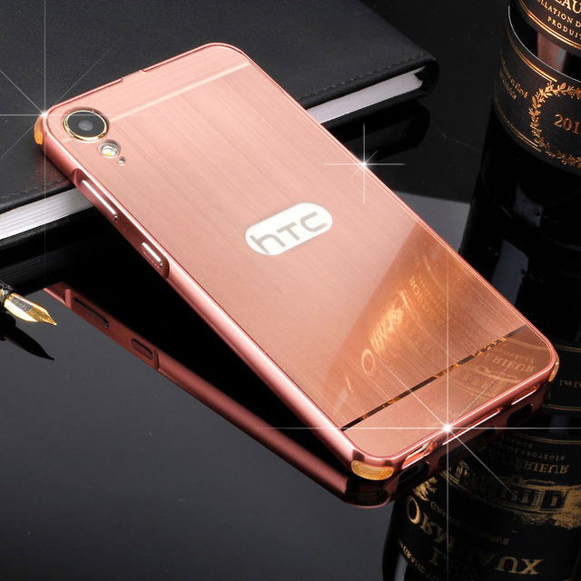 sports shoes 68104 f6c39 US $8.99 |Four corners Protection Metal frame brushed PC Case for HTC  Desire 10 Lifestyle/10 Pro/530 630 628 dual/U Play Cover Capa Bag-in Fitted  ...