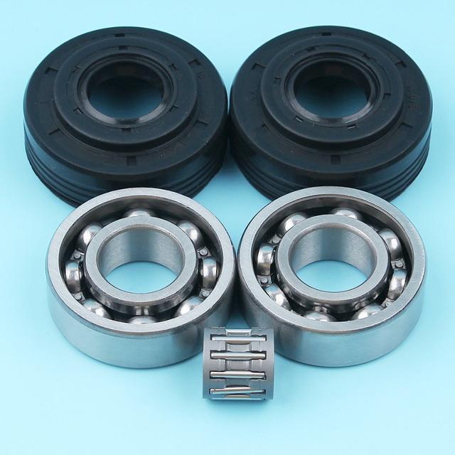 Crankshaft Ball Piston Needle Bearing   Oil Seal Kit For Husqvarna 340 345  346 XP 350 351 353 E EPA Chainsaw   503932302 b3c2781a9