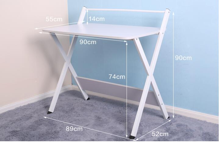 90x55CM High quality Bedside Table Fashion Laptop Table Modern Notebook Desk90x55CM High quality Bedside Table Fashion Laptop Table Modern Notebook Desk