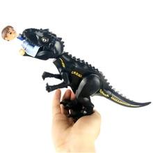 Legoings Jurassic Dinosaur world Figures Tyrannosaurs Rex Building Blocks Toys For Children BKX92