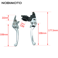 Off Road Folding Brake Lever Clutch Lever Motorcross Alloy Brake Handle Lever Part Fit For CRF