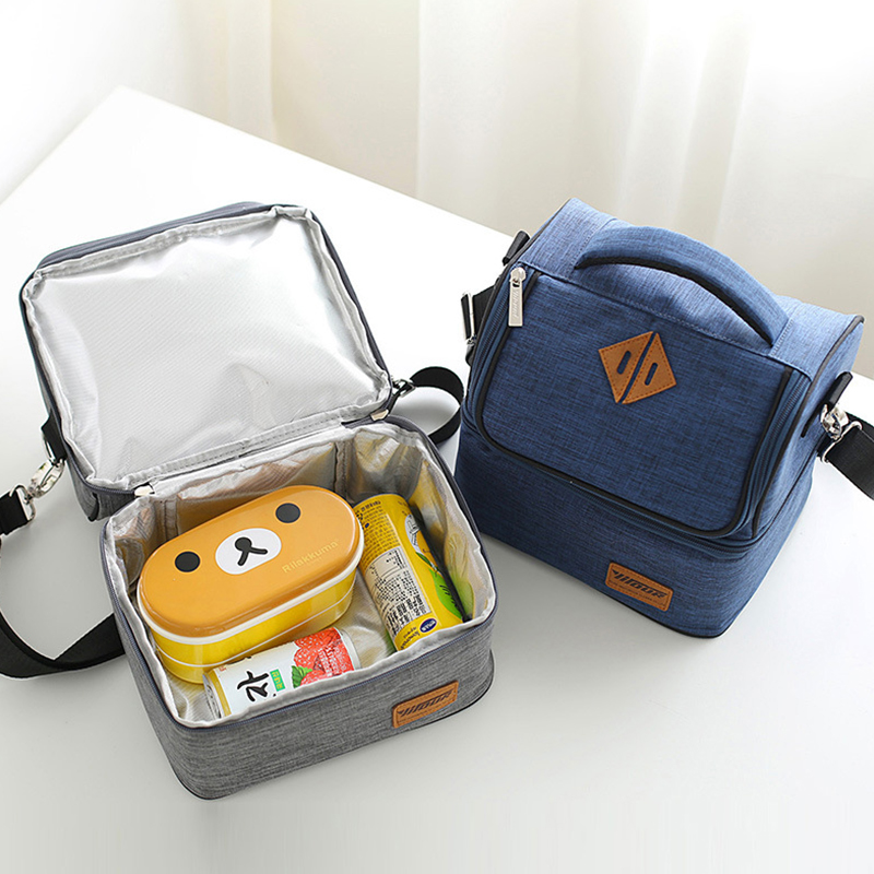 Picnic Portable Lunch Thermal Bag Food Bento Cold Insulation Tote Fruit Beverage Preservation Organizer Pouch Accessories Supply
