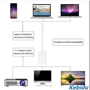 Image 2 - Kebidu 4K タイプ C 3.1 に HDMI ケーブルアダプタメスの Usb C アダプタコンバータ macbook クロームブック DELL Smasung ホーン新