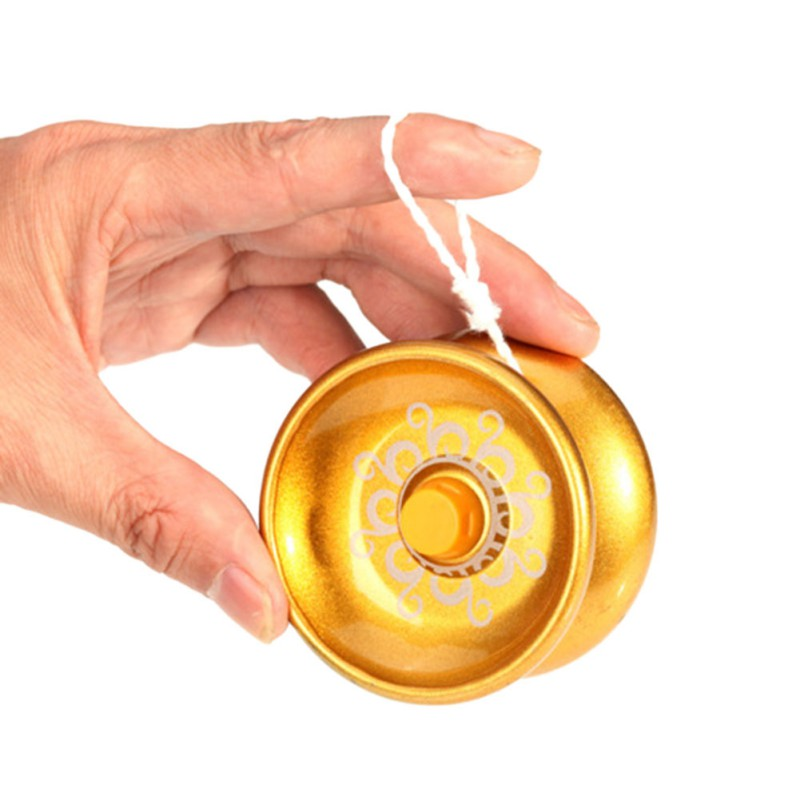 Funny High Speed Aluminum Alloy Design ToysProfessional YoYos Ball Bearing String Trick Kids Juggling Adult Toys(China)