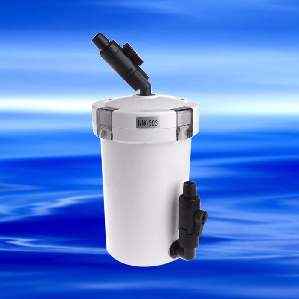 1Pc 220-240V HW603 Aquarium Filter External Fish Tank Fresh Water Accessories Tools Aquarium Filter Accessories New C42