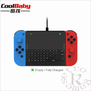 DHL 20pcs/lot 2.4G Wireless Game Keyboard for Nintend Switch host Wireless Keyboard for Nintendo Switch NS Console