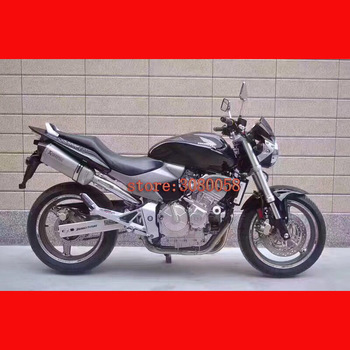 CB600 Motorcycle Modified Exhaust Muffler Laser Marking Carbon Fiber aluminum With DB Killer Connect Pipe FOR HONDA CB600