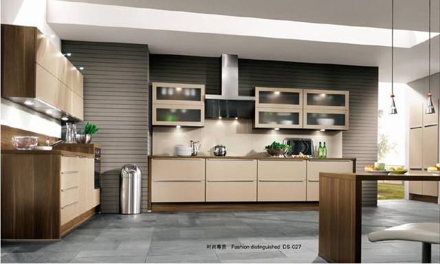 Dapur Modern Desain Kitchen Furniture Cabinet