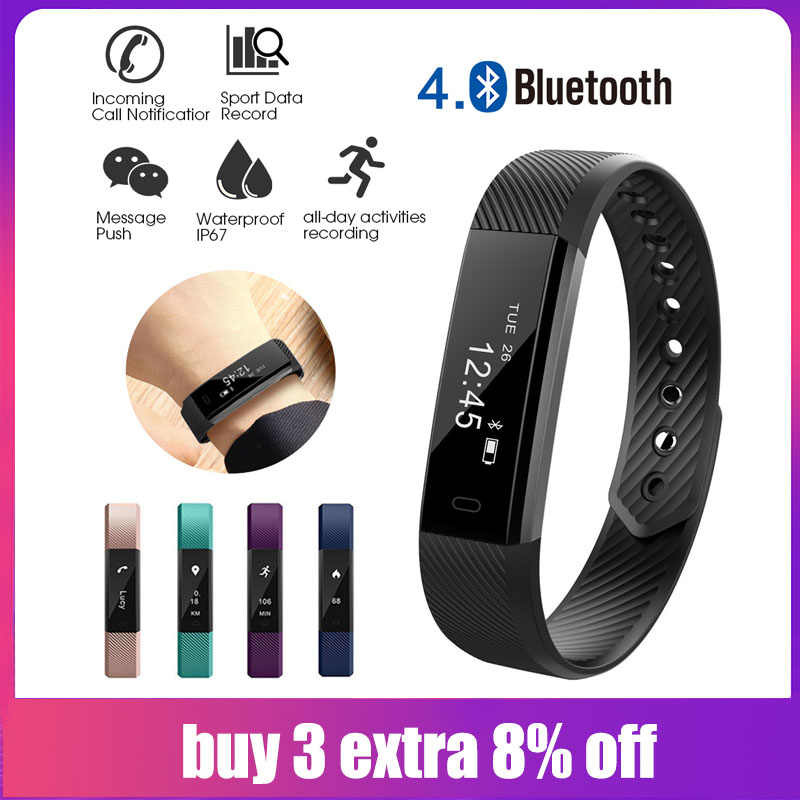 Detail Feedback Questions about Veryfit ID115 Watches Bluetooth