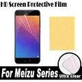 Pantalla hd protector de pantalla transparente película protectora suave para meizu pro 6 6 S 5 MX6 MX4 MX5 M3 M5 M3 M3e Nota