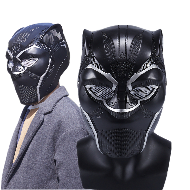 Film Black Panther T'Challa superhéros masques Cosplay PVC casques Halloween