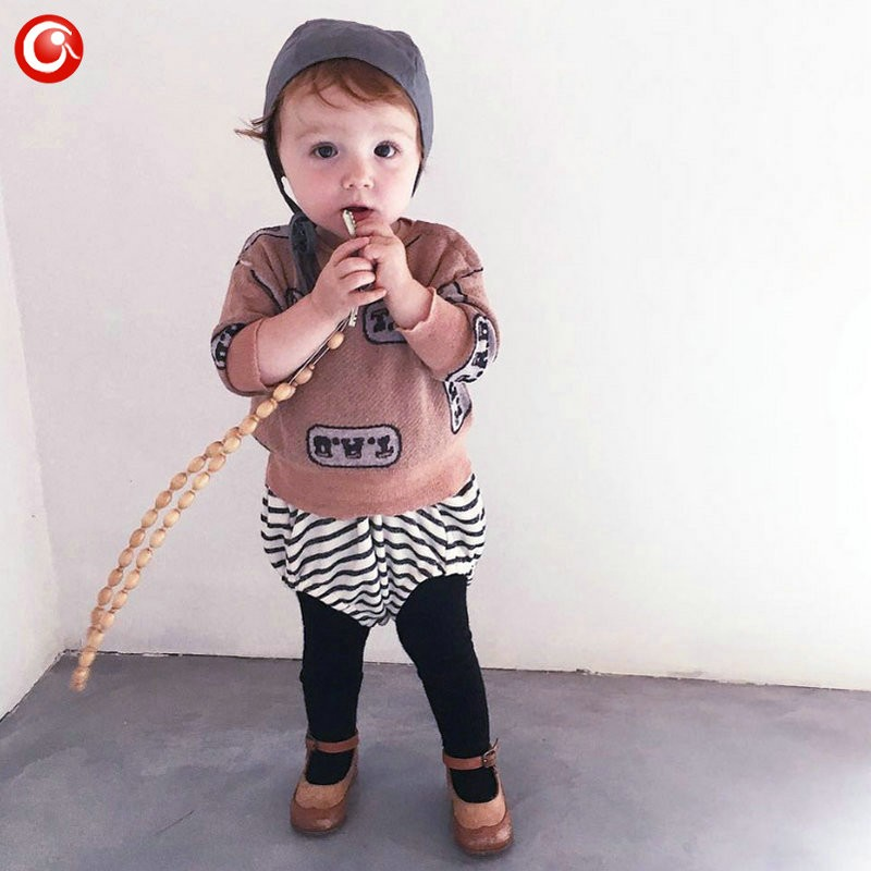 1-5y 2016 Autumn Children\'s Girls Sweater Fashion Toddler Bat Cardigan For Baby Boys Christmas Clothes Long Sleeve Outwear (11)