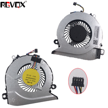 цена на New Laptop Cooling Fan for HP Pavilion 15Z-A 15-AB 17-G 17-G015DX Original P/N 812109-001 CPU Replacement Cooler Radiator