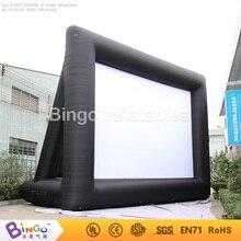 Бесплатная Экспресс 9.1 М длинные 6.1 м Высокое надувной Театр Экран Высокое качество Оксфорд нейлон ткань для продажи игрушка палатка