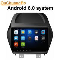 Ouchuangbo 10 1 Inch Android 6 0 Car GPS For Hyundai IX35 With Mirror Link RAM