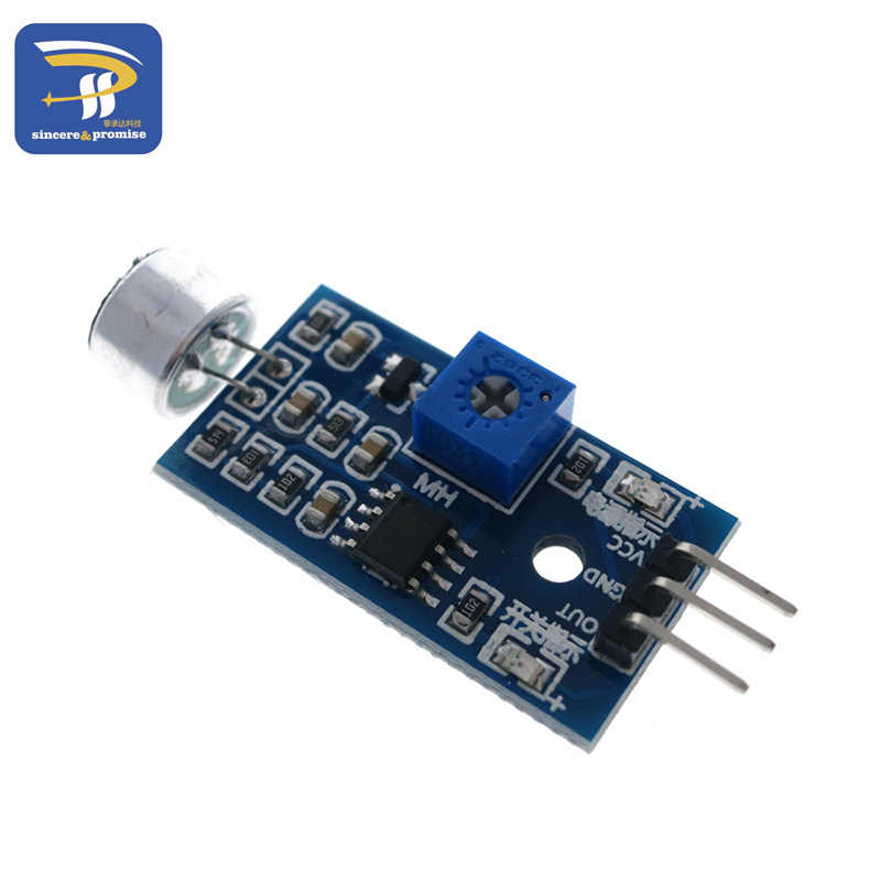 3pin Voice Sound Detection Sensor Module Intelligente Smart Robot Helicopter Vliegtuig Boart Auto voor arduino Diy Kit