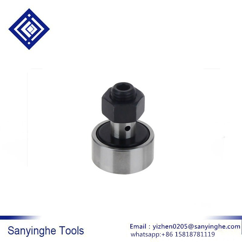 High precision free shipping sanyinghe 1 piece NUKR35-NUKR62 curve roller bearings bolt roller Threaded Rod Stud Type