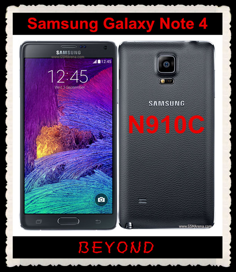 US $164 0 |Samsung Galaxy Note 4 N910C Original Unlocked GSM 4G LTE Android  Mobile Phone Octa Core 5 7