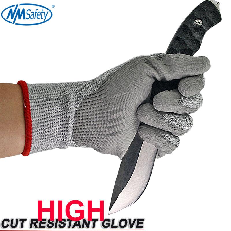 4 pary Odporne na przecięcie ochronne rękawice robocze z HPPE Fibre - Bezpieczeństwo i ochrona - Zdjęcie 2