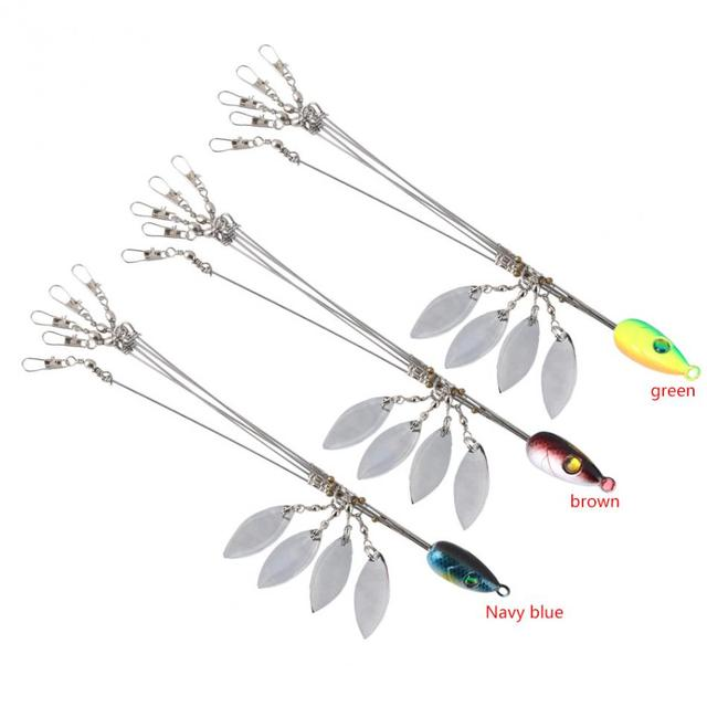 Optional Alabama Umbrella Jig Head Fishing Jig Bait Hooks Fishing Tools with Snap Swivels Fishing Baits Pesca Fishing Tackle
